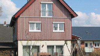 Aufstockung; Holz-Neubau