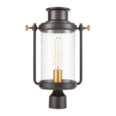 Elk Lighting 46673/1 Wexford - One Light Outdoor Post Mount
