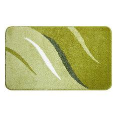 Large Wings Bath Mat, Green, 60x100 cm