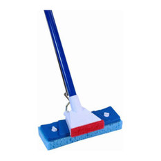 Quickie® 045-4 Automatic® Sponge Mop with New Dry Shine