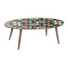 Ondine Dowel Coffee Table - Retro Disposition