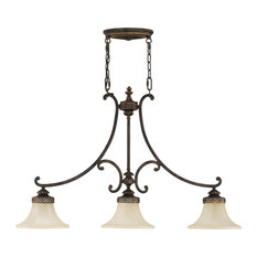 Murray Feiss Drawing Room Three Light Island Chandelier F2218/3WAL