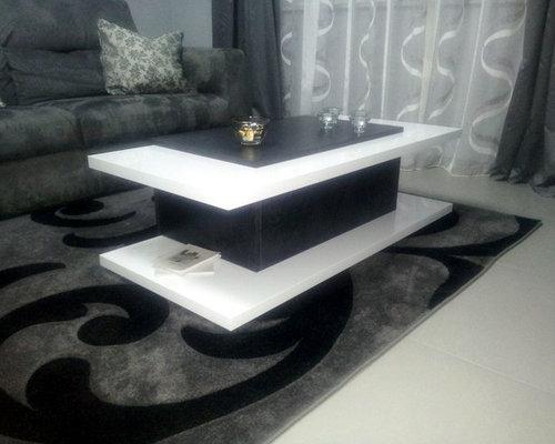 Referenza cooper tavolino da salotto e porta tv bianco