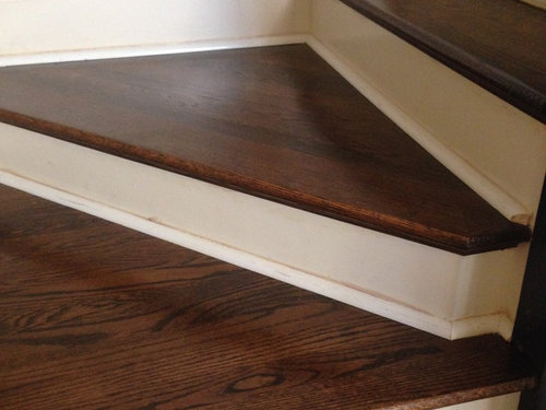 Shoe Molding On Stairs