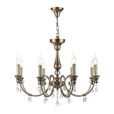 Francis Royal Classic Candelabra Chandelier, 8 Arms