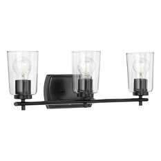 Adley Collection 3-Light Bath and Vanity, Black