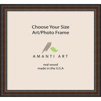 """Art/Photo Frame, Cyprus Walnut, 38""""x35"""""""