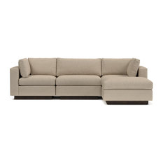 Down Filled Sectional Sofas Houzz