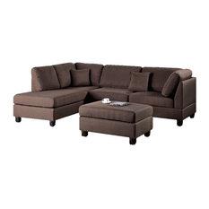 amber sectional sofa with ottoman brown sectional sofas