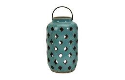 Blue Medium Pocono Candle Lantern