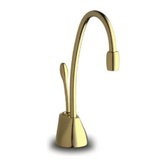 InSinkErator Indulge Contemporary Hot Only Faucet, French Gold