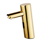 Fontana Platinum Thermostatic Gold Plated Sensor Tap Solid Brass Construction