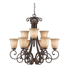 Budapest Collection 9 Light Chandelier