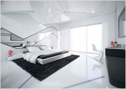 chambre ultra moderne