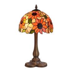 Diamond Series Table Lamp With Tripod Base