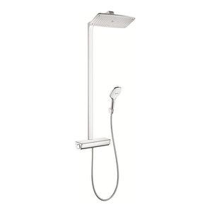Hansgrohe 27112 Raindance Select 360 Showerpipe With Finish: White/Chrome