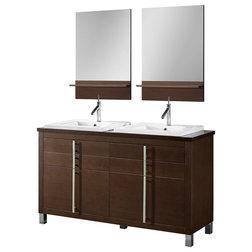 Modern Bathroom Vanities And Sink Consoles by Adornus Cabinetry