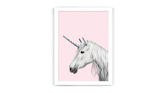 Fantasy Unicorn Nursery Print