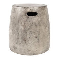 Dimond Home Hive Stool in Polished Concrete 157-018