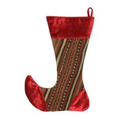 Large Kilim Christmas Stocking, Candy