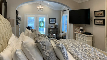 Master Bedroom with expanded sitting room.