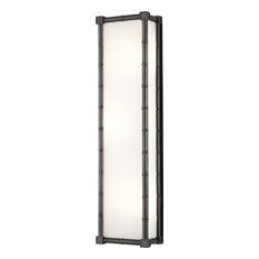 "Robert Abbey Meurice M Wall Meurice 25"" Single Light Bathroom Sconce"