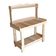 White Cedar Wooden Outdoor Workbench
