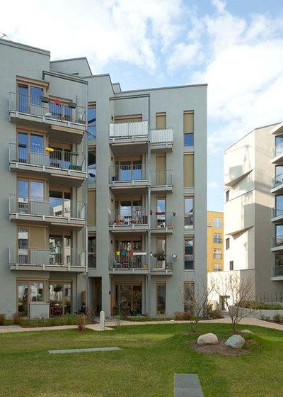 Modern Häuser by fatkoehl architekten