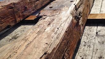 Reclaimed Sinker Pine Beams