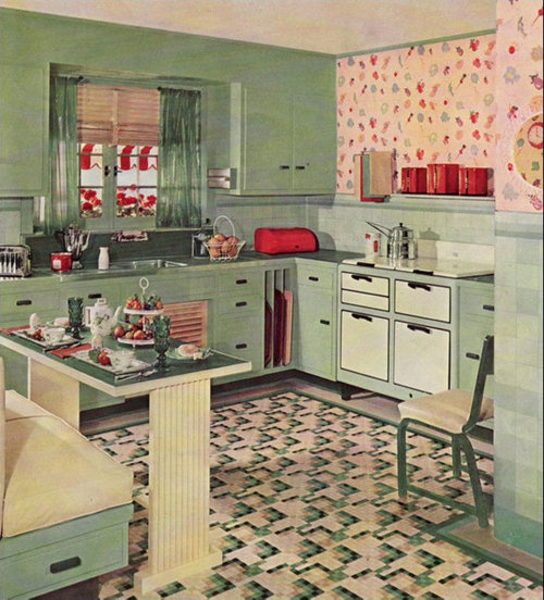 Just for fun... representative kitchens of the decades