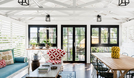 Room of the Week: From Dull Verandah to a Delightful Living Area