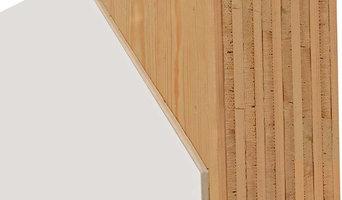Massiv-Holz-Mauer