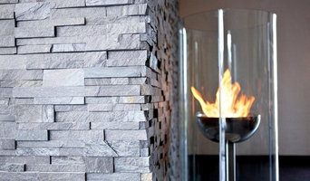 STONE CLADDING - LIVING ROOM