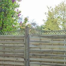 Garden Timber Trellis Panels