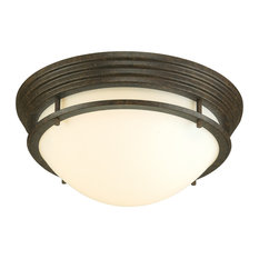 Most popular flush mount ceiling lights for 2018 houzz 1st avenue foyle bronze flush mount ceiling light small flush mount mozeypictures Images