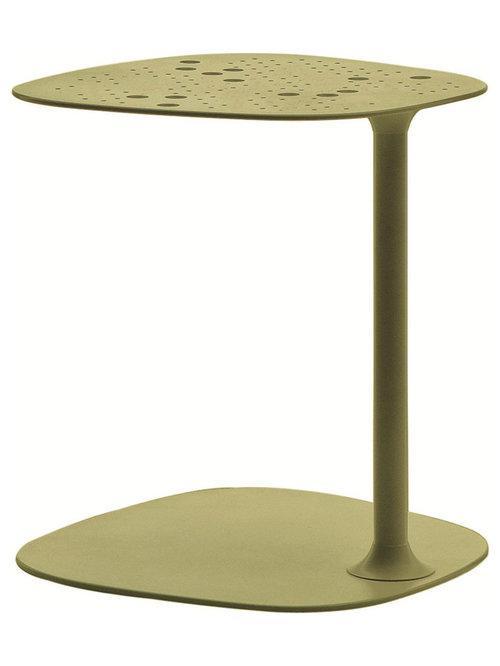 Aikana Sidobord H42cm, Olivgrön - Sideborde & aflastningsborde