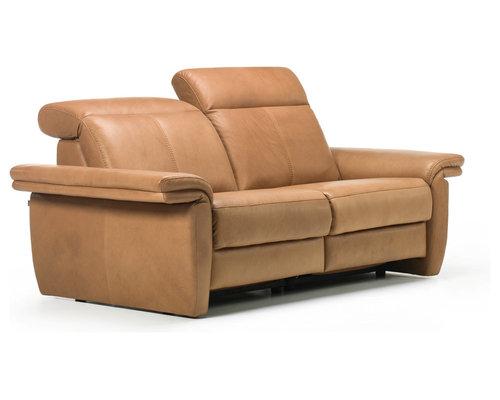 Minos Leather Sofa By Rom Belgium Sofas