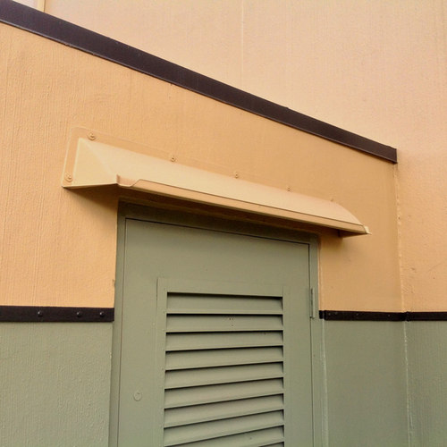 Doorbrim Awnings Protect Doors and Stop Leaks - Outdoor Power Equipment