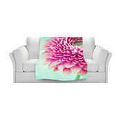 """Colorful Spring Throw Blanket, 40""""x30"""""""