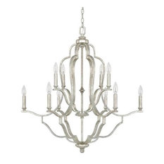 Capital Lighting Blair 10-LT Chandelier 4940AS-000 - Antique Silver