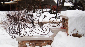 Decorative scroll work