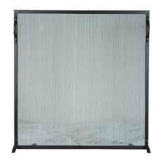 "Meyda 48""x45"" Prime Fireplace Screen"