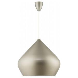 Dublin Pendant Light, Matte Grey, Large