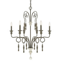 Austin Allen & Co Sofia 6-Light French Country Chandelier 9B216A