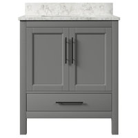 Kendall Gray Bathroom Vanity, 30''