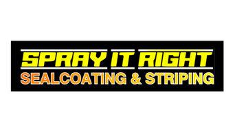 Spray It Right Sealcoating & Striping