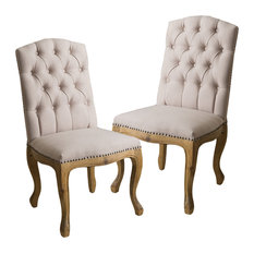 Shop Jolie Weathered Wood Dining Chairs on Houzz