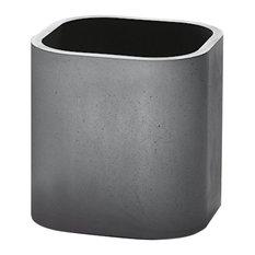 Liv Grey Concrete Plant Pot, Large