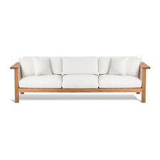 OASIQ MARO 3 Seater Sofa, Canvas Natural