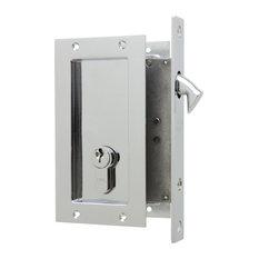 FPL Anacapa Pocket Lock Keyed, Polished Chrome